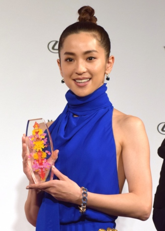 『VOGUE JAPAN WOMEN OF THE YEAR 2018』の授賞式に出席した中村アン (C)ORICON NewS inc.