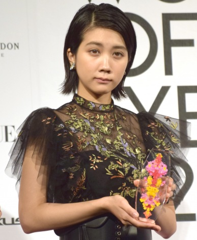 『VOGUE JAPAN WOMEN OF THE YEAR 2018』の授賞式に出席した松本穂香 (C)ORICON NewS inc.