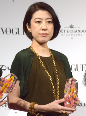 『VOGUE JAPAN WOMEN OF THE YEAR 2018』の授賞式に出席した野木亜紀子氏 (C)ORICON NewS inc.