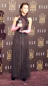 『エル シネマアワード2018』でエル・ガール ライジングスター賞を受賞したKoki, (C)ORICON NewS inc.