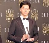 『エル シネマアワード2018』でエル メン賞を受賞した東出昌大 (C)ORICON NewS inc.