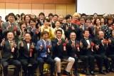 サンミュージック『グループ創立50週年記念式典』の模様 (C)ORICON NewS inc.