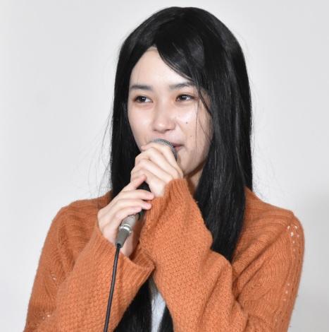 オトナの土ドラ『さくらの親子丼2』の囲み取材に出席した井頭愛海 (C)ORICON NewS inc.