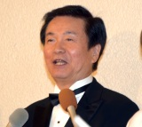 サンミュージック『グループ創立50週年記念式典』に出席した森田健作 (C)ORICON NewS inc.