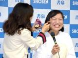(左から)TAKAKO、しずちゃん =『もう常識にはとらわれない! 50歳からのいい女』刊行記念イベント (C)ORICON NewS inc.