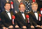 (左から)森田健作、相澤正久社長、西郷輝彦 (C)ORICON NewS inc.
