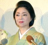 サンミュージック『グループ創立50週年記念式典』に出席した牧村三枝子 (C)ORICON NewS inc.