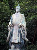 島津久光公像=鹿児島市内、照国神社のすぐそばの探勝園と呼ばれる一角にある (C)ORICON NewS inc.