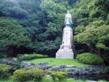 島津久光公像=鹿児島市内、照国神社のすぐそばにある (C)ORICON NewS inc.