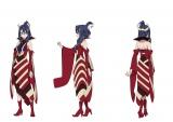 アニメ『エガオノダイカ』メインキャラクターのレイラ(C)タツノコプロ/エガオノダイカ製作委員会