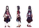 アニメ『エガオノダイカ』メインキャラクターのユニ(C)タツノコプロ/エガオノダイカ製作委員会