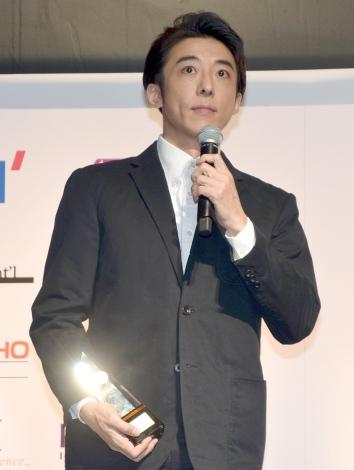 『第47回 ベストドレッサー賞』の芸能部門を受賞した高橋一生 (C)ORICON NewS inc.