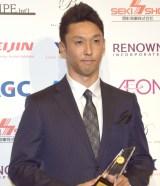 『第47回 ベストドレッサー賞』スポーツ部門を受賞したレーシングドライバーの中嶋一貴 (C)ORICON NewS inc.