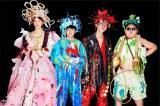 """映画『ウィーアーリトルゾンビーズ』で劇中バンドを組む(左から)中島セナ、二宮慶多、奥村門土、水野哲志 (C)2019""""WE ARE LITTLE ZOMBIES""""FILM PARTNERS"""