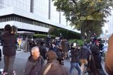 吉澤被告、初公判に1137人が列