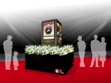 『東京コミコン2018』会場に設置予定のスタン・リー氏追悼モニュメントの設置イメージ