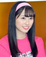 AbemaTVももクロ緊急招集『ももいろ歌合戦』挑戦宣言会に参加した佐々木彩夏 (C)ORICON NewS inc.