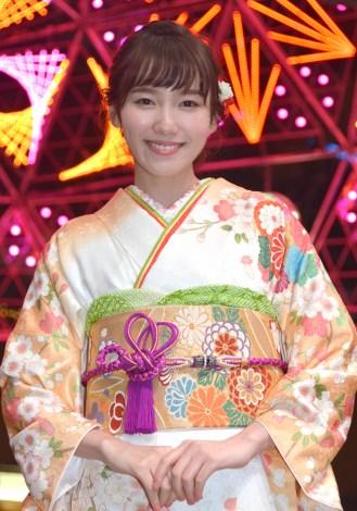"""サムネイル 今年の流行語は""""花晴れ""""と語った飯豊まりえ(C)ORICON NewS inc."""