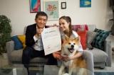 ザギトワ選手と愛犬マサルが広告出演契約