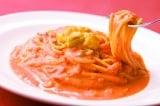 濃厚!うにとトマトのクリームスパゲティ