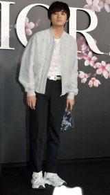 『ディオール メンズプレフォール2019コレクション』に来場した北村匠海 (C)ORICON NewS inc.