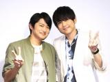 海外ドラマ「FAMOUS IN LOVE」で日本語吹き替え版を担当した(左から)下野紘、梶裕貴 (C)ORICON NewS inc.