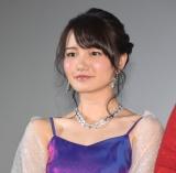 映画『新宿パンチ』初日舞台あいさつに登壇した財田ありさ (C)ORICON NewS inc.