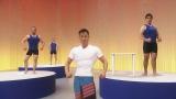 NHK関西地域向け番組『かんさい元気印 健康・長寿スペシャル(仮)』(1月11日放送)で「まだ間に合う筋肉体操」を披露する近畿大学・谷本道哉准教授「筋肉は裏切らへん!」(C)NHK