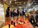 サナギ 新宿で開催した『青春高校3年C組』アイドル部、フリーライブ会場の様子 (C)ORICON NewS inc.