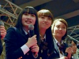 『青春高校3年C組』アイドル部(左から)黒木美佑、日比野芽奈、ボールドウィン零(C)ORICON NewS inc.