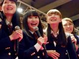 『青春高校3年C組』アイドル部(左から)村西里世、黒木美佑、日比野芽奈、ボールドウィン零(C)ORICON NewS inc.
