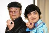 トークショーに出席した(左から)魔夜峰央氏、加藤諒 (C)ORICON NewS inc.
