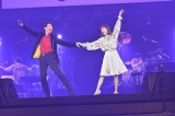 『Act Against AIDS 2018「THE VARIETY 26」』に出演した(左から)神田沙也加、寺脇康文