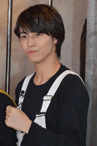 TBSオンデマンド『超特急のハガメン!mini6』収録後取材に参加した超特急・タカシ (C)ORICON NewS inc.