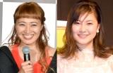 『2018ブレイクタレント』部門で躍進した(左から)丸山桂里奈、村上佳菜子 (C)ORICON NewS inc.