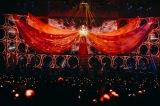 小林幸子ばりの巨大衣装で「愛燦燦」を熱唱 Photo by 西槇太一