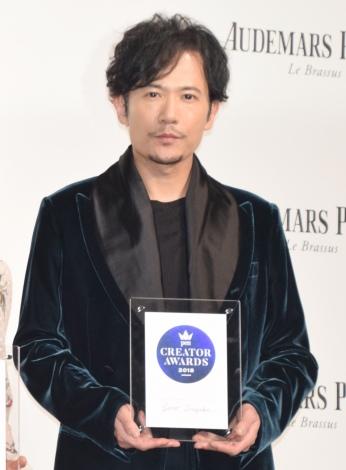 『Pen クリエイター・アワード2018』を受賞した稲垣吾郎 (C)ORICON NewS inc.