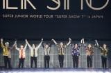 東京ドームで4年ぶりとなる単独日本公演を行ったSUPER JUNIOR Photo by 田中聖太郎写真事務所