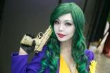 『東京コミコン2018』で発見!女性版ジョーカーに扮したコスプレイヤー・maruさん(C)oricon ME inc.