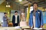 火曜ドラマ『中学聖日記』第9話より有村架純、岡田健史、 岸谷五朗(C)TBS