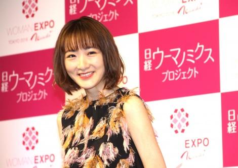 『WOMAN EXPO TOKYO 2018 Winter』内のトークイベントに出席した生駒里奈 (C)ORICON NewS inc.