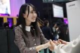 ドキドキの初握手会を体験した賀喜遥香(かき・はるか)