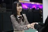 ドキドキの初握手会を体験した金川紗耶(かながわ・さや)
