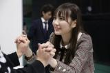 ドキドキの初握手会を体験した田村真佑(たむら・まゆ)