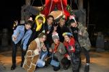 『ニンゲン観察バラエティ モニタリング』でクリスマスサプライズを行った三代目 J Soul Brothers (C)TBS