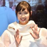 『新曲発売記念イベント』の囲み取材に出席したMELLOW MELLOW・MAMI (C)ORICON NewS inc.