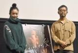 映画『生きてるだけで、愛。』ティーチインイベント出席した(左から)趣里、関根光才監督 (C)ORICON NewS inc.