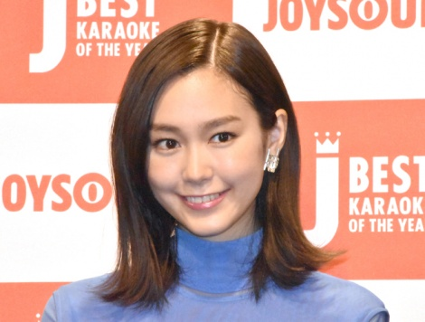 『JOYSOUND BEST KARAOKE OF THE YEAR 2018』に登壇した桐谷美玲 (C)ORICON NewS inc.