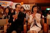 翔子を潰そうと目論む大手法律事務所の代表弁護士・天馬壮一郎(小日向文世)とは旧知の仲という役どころ(C)テレビ朝日