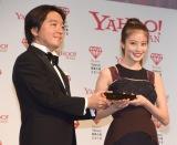 『Yahoo!検索大賞2018』の発表会に出席した今田美桜(右) (C)ORICON NewS inc.
